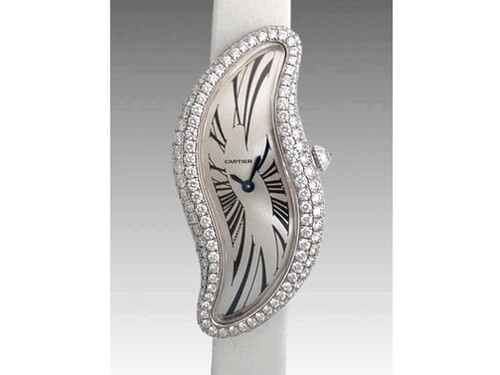 Cartier Cartier Libre Baignoire S (WG-Diamonds / Silver /Fabric)