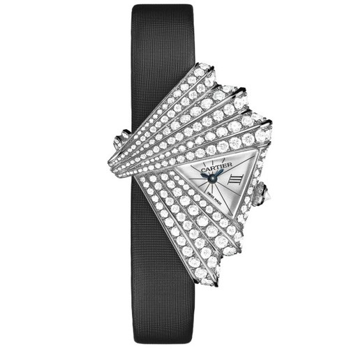 Cartier Cartier Libre Froissee (WG-Diamonds / Silver /Fabric)