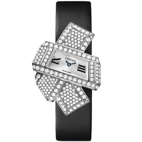 Cartier Cartier Libre Noeud (WG-Diamonds / Silver /Fabric)