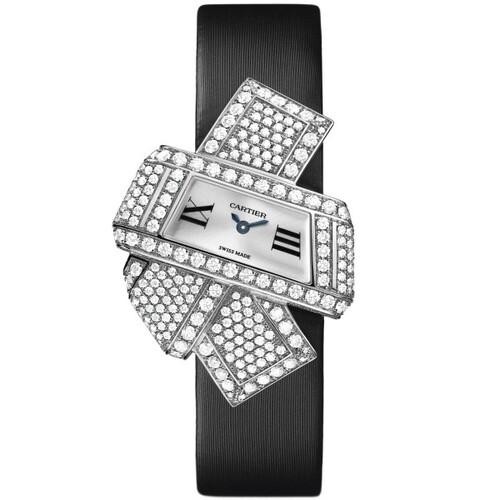 Cartier Cartier Libre Noeud (WG-Diamonds / Silver /Fabric)
