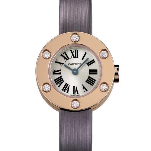Cartier Cartier Love Small (RG- 6 Diamonds /Silver / Fabric )