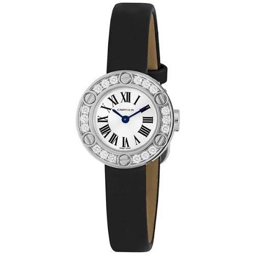 Cartier Cartier Love Small (RG- Diamonds /Brown / Fabric )