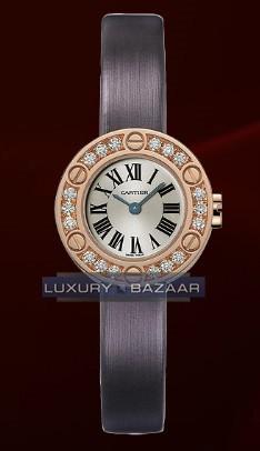 Cartier Cartier Love Small (RG- Diamonds /Silver / Fabric )