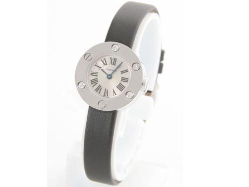 Cartier Cartier Love Small (WG- 3 Diamonds /Silver / Fabric )