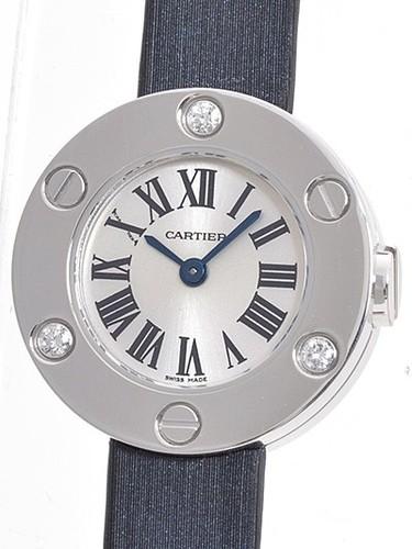 Cartier Cartier Love Small (WG- 6 Diamonds /Silver / Fabric )