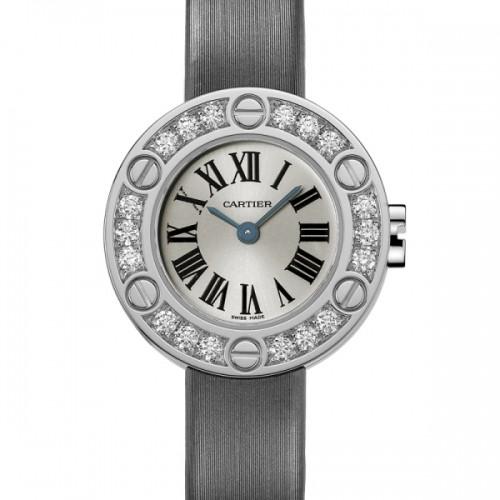 Cartier Cartier Love Small (WG- Diamonds /Silver / Fabric )