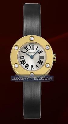 Cartier Cartier Love Small (YG- 6 Diamonds /Silver / Fabric )