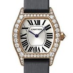 Cartier Cartier Tortue Small (RG- Diamonds/ Silver / Fabric )
