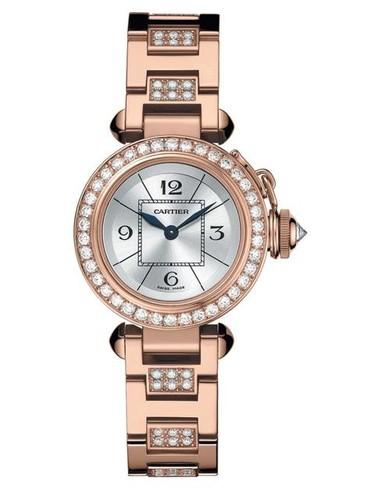 Cartier Miss Pasha (RG- Diamonds / Silver / RG- Diamonds)