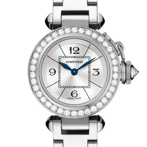 Cartier Miss Pasha (WG- Diamonds / Silver / WG)