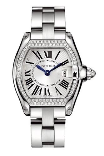 Cartier Roadster Ladies (WG - Diamonds / Silver / WG)