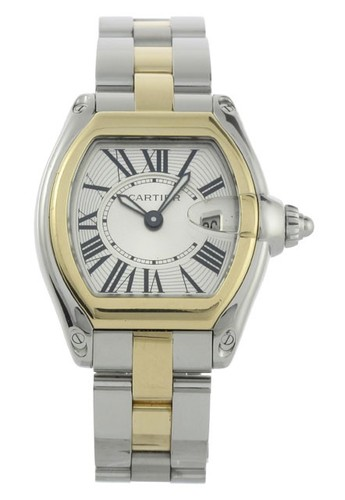 Cartier Roadster Ladies (YG - SS / Silver / YG - SS)