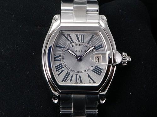 Cartier Roadster (SS / Silver / SS Bracelet)