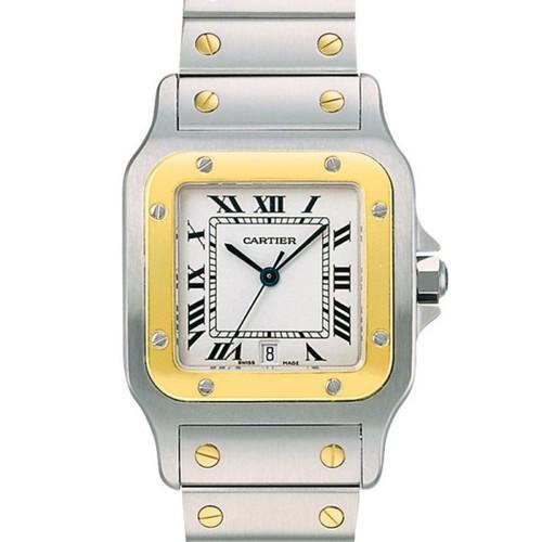 Cartier Santos Galbee Small (YG- SS/ Silver /YG - SS)