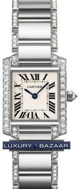 Cartier Tank Francaise (WG - Diamonds / Silver / WG - Diamonds )