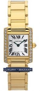 Cartier Tank Francaise (YG - Diamonds / Silver / YG )