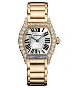 Cartier Tortue Francaise ( PG-Diamonds / Silver / Bracelet)