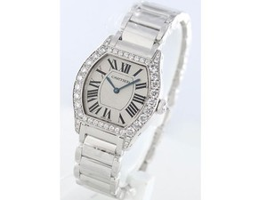 Cartier Tortue Small (WG- Diamonds/ Silver / WG)