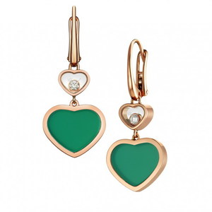 Серьги Chopard Happy Hearts 837482-5011