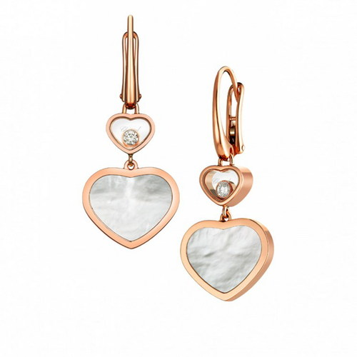 Серьги Chopard Happy Hearts 837482-5310