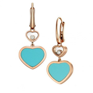 Серьги Chopard Happy Hearts 837482-5410
