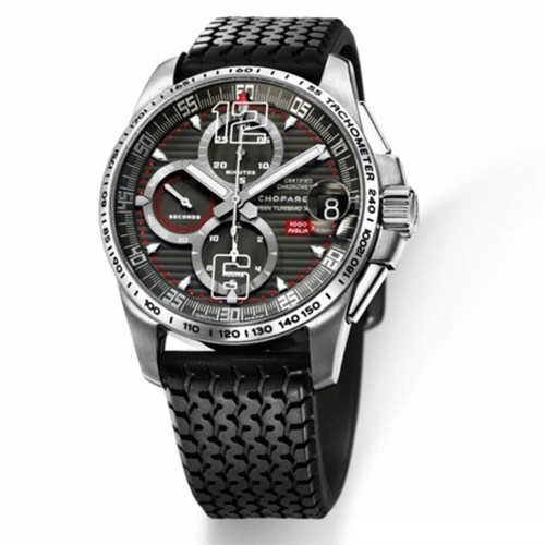 Chopard 1000 Miglia GT XL Chrono Titanium (SS / Black) 168459-3005