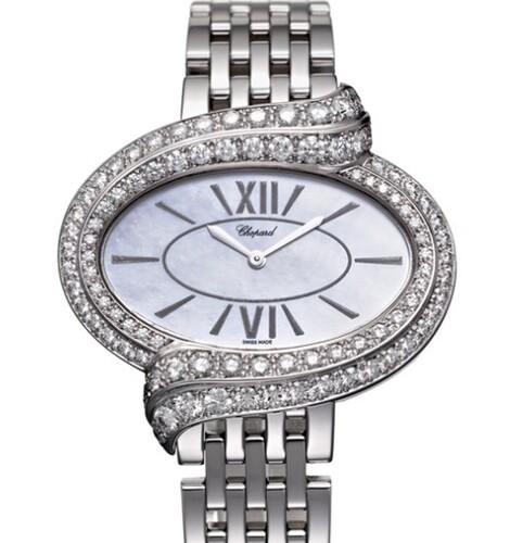 Chopard Classic (WG / White / Diamonds / Bracelet) 109329-1001