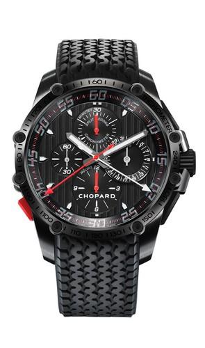 Chopard Classic Racing Superfast Chrono Split Second (SS-DLC / Black / Rubber Strap) 168542-3001