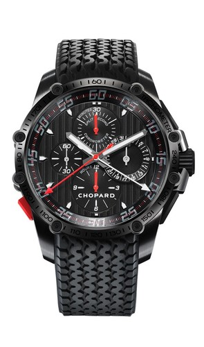 Chopard Classic Racing Superfast Chrono Split Second (SS-DLC / Black / Rubber Strap) 168542-3001