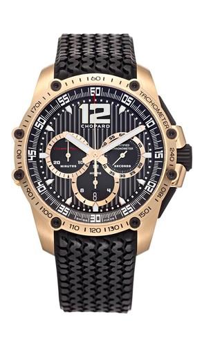 Chopard Classic Racing Superfast (RG / Black / Rubber) 161276-5003