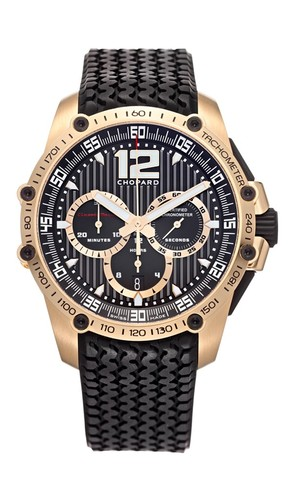 Chopard Classic Racing Superfast (RG / Black / Rubber) 161276-5003