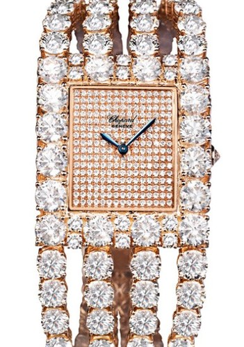 Chopard Classic Square Cuff (RG / Diamonds / Cuff Bracelet) 109190-5001