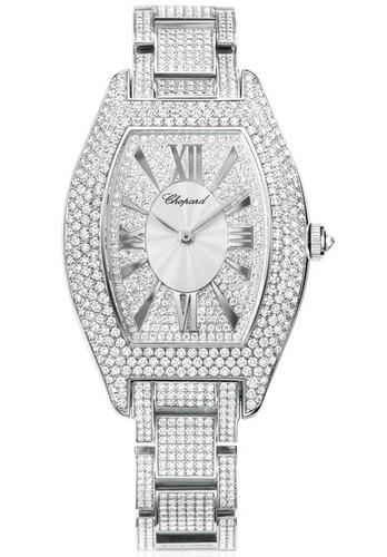 Chopard Classic Tonneau Oval (RG / Diamonds / Diamond Bracelet) 109048-1001