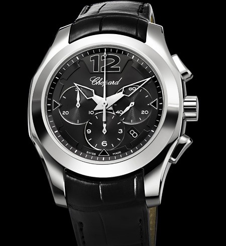 Chopard Elton John Chronograph (WG / Black) 161279-1001