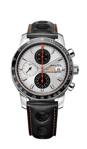 Chopard Grand Prix De Monaco Historique Chronograph 168992-3031 (SS / Silver / Leather)