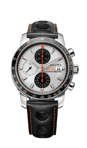 Chopard Grand Prix De Monaco Historique Chronograph 168992-3031 (SS / Silver / Leather)