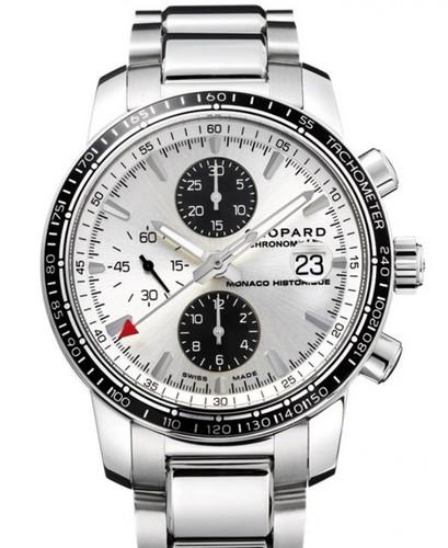 Chopard Grand Prix De Monaco Historique Chronograph 158992-3003 (SS / White / Bracelet)