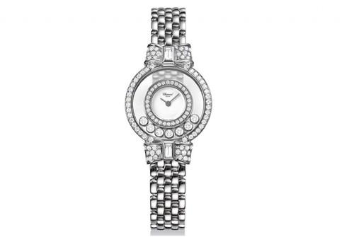 Chopard Happy Diamonds Bows (WG-Diamonds / Diamonds / WG) 205596-1001