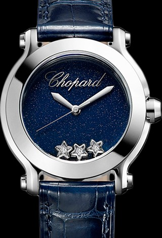 Chopard Happy Sport Round 30mm 5 Diamonds Edition 2 278509-3049