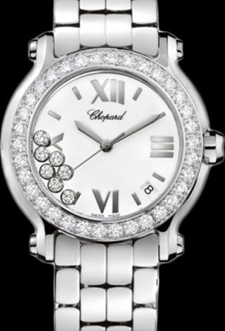 Chopard Happy Sport Round 36mm 7 Diamonds Edition 2 278477-3008
