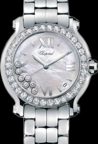Chopard Happy Sport Round 36mm 7 Diamonds Edition 2 278477-3009