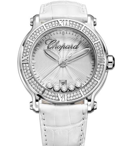 Chopard Happy Sport Round 5 Diamonds 288525-3003