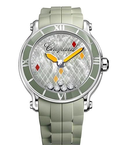 Chopard Happy Sport XL Almond Green 288524-3003