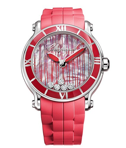 Chopard Happy Sport XL Coral Red 288524-3002