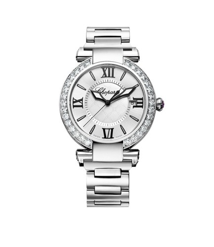Chopard Imperiale Automatic (SS-Diamonds / Silver / SS Bracelet) 388531-3004
