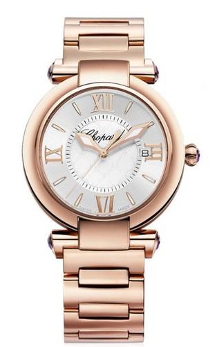 Chopard Imperiale Ladies (RG/ Silver / RG Bracelet) 384221-5003