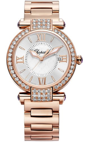 Chopard Imperiale (RG-Diamonds / Silver / RG Bracelet) 384221-5004