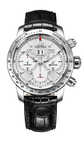 Chopard Jackie Ickxx Edition 4 (SS / Silver/ Leather) 168998-3002