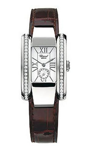 Chopard La Strada (SS-Diamonds / Brown / Leather) 418412-3001