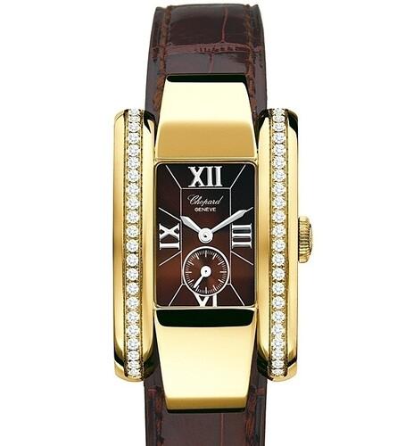 Chopard La Strada (YG-Diamonds / Brown / Leather) 416914-0001